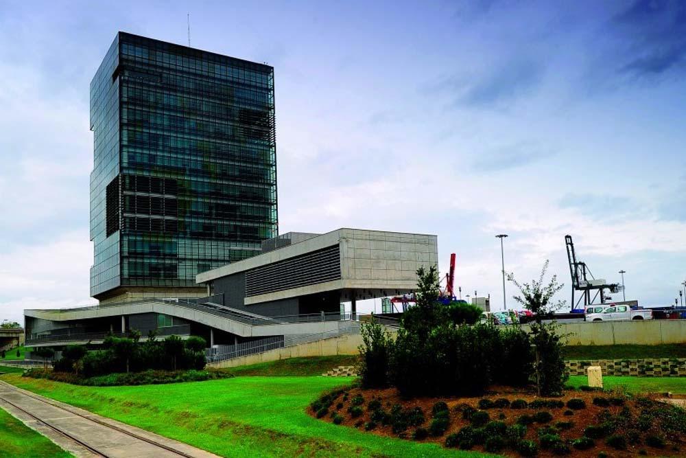 Sede de la autoridad portuaria de Bilbao